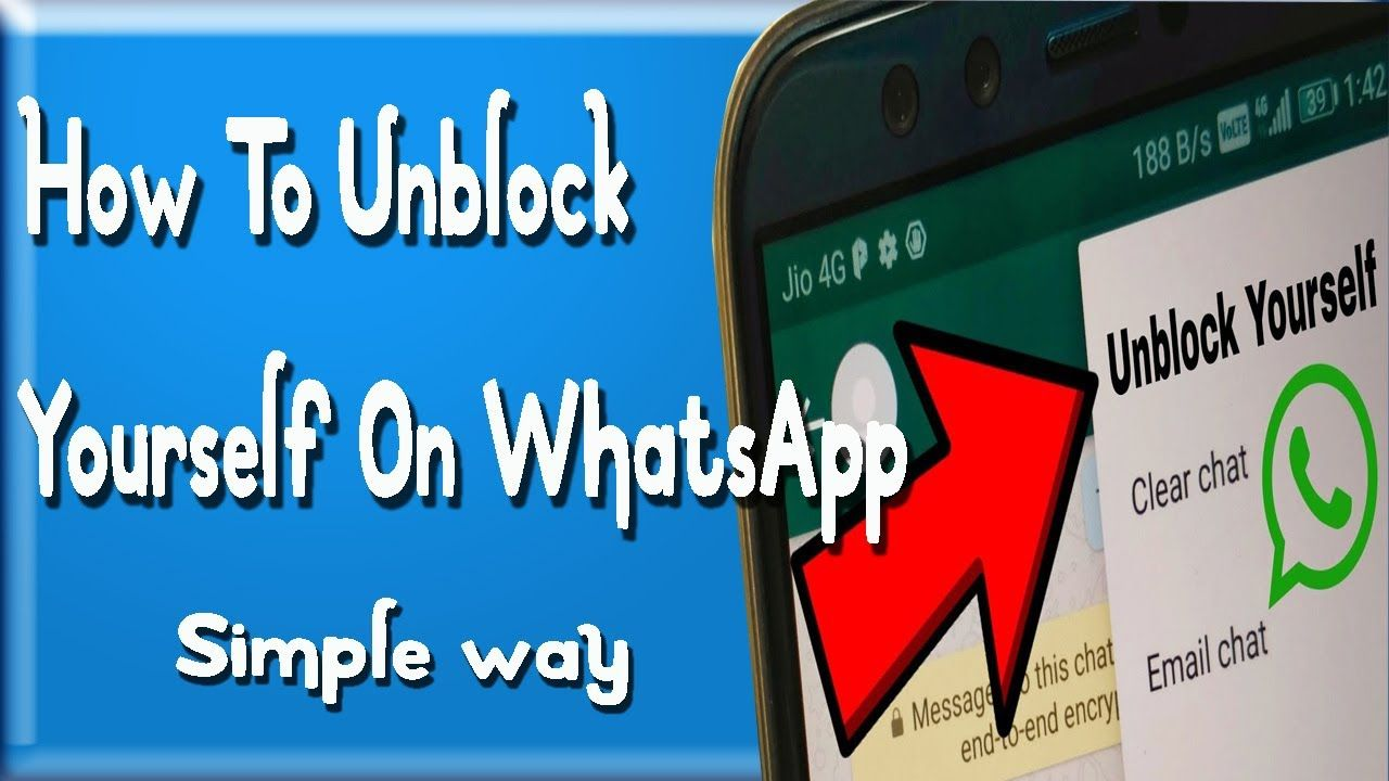 ARE YOU BLOCKED ON WATSAPP BY A CONTACT? SEE HOW TO UNBLOCK YOURSELF