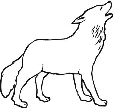 wolf coloring pages for kids ...