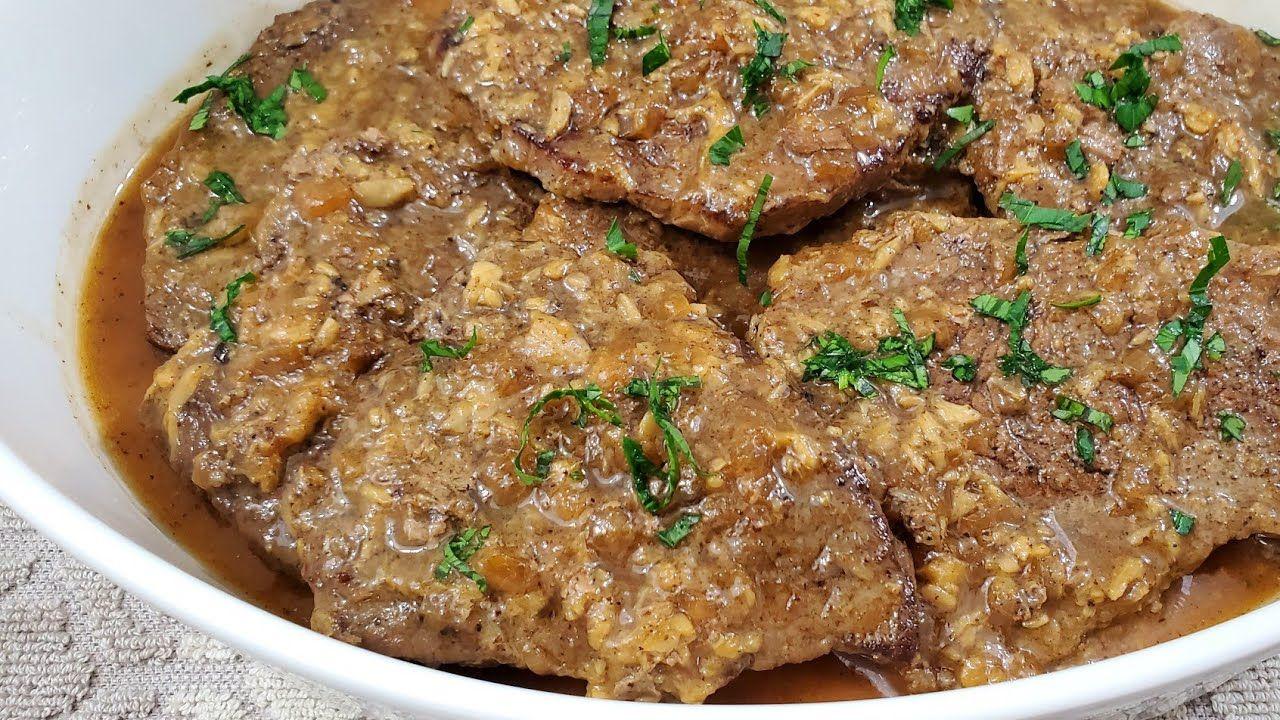 طريقة تحضير البفتاك اللبناني Best Lebanese Beef Steak Recipe Youtube Beef Steak Recipes Beef Dishes Recipes