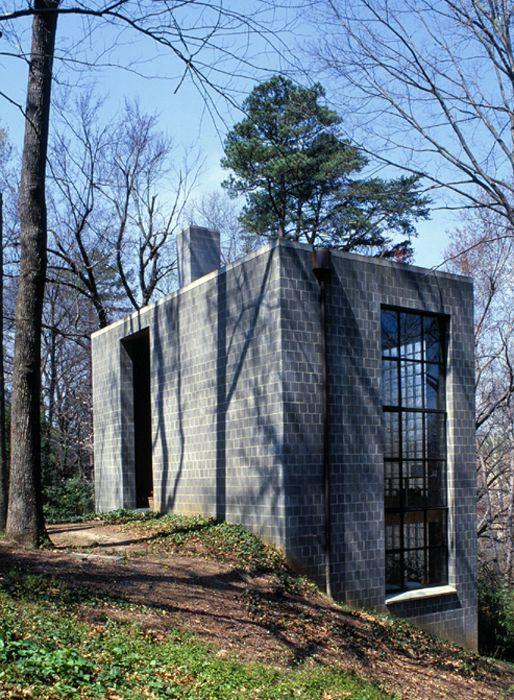 Clark House Cement House Cinder Block House Concrete Architecture