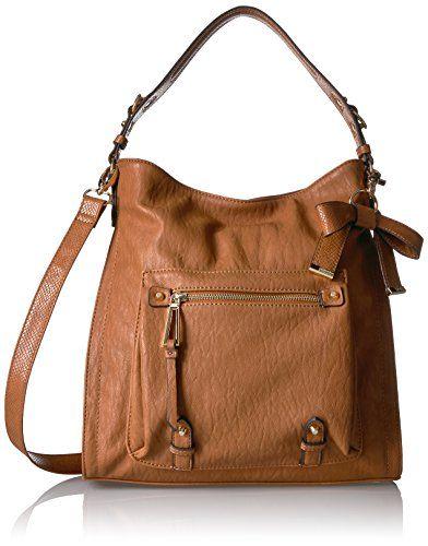 a3d6245db4f Jessica Simpson Tatiana Hobo, Cognac   Designer Handbags / Purses ...