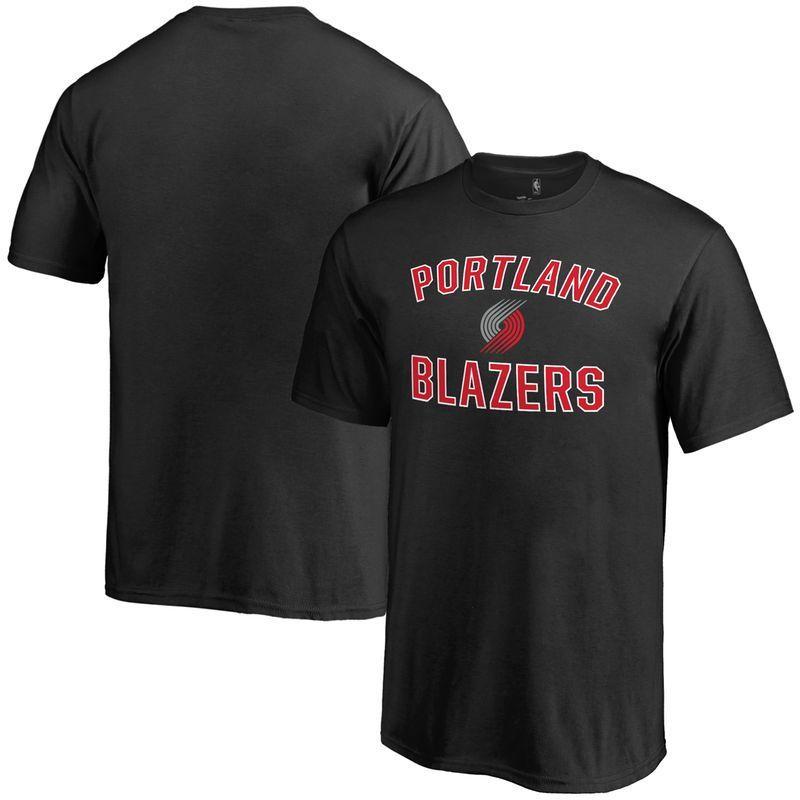 Portland Trail Blazers Youth Victory Arch T-Shirt - Black a0f3c19536154