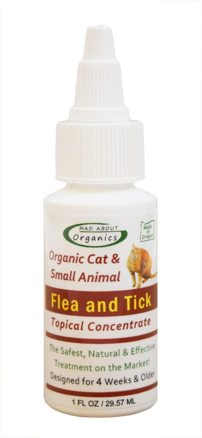 Mad About Organics All Natural Cat Small Animal Flea And Tick Topical Drops Click On The Image For Additional Details Cat Fleas Small Pets Flea And Tick