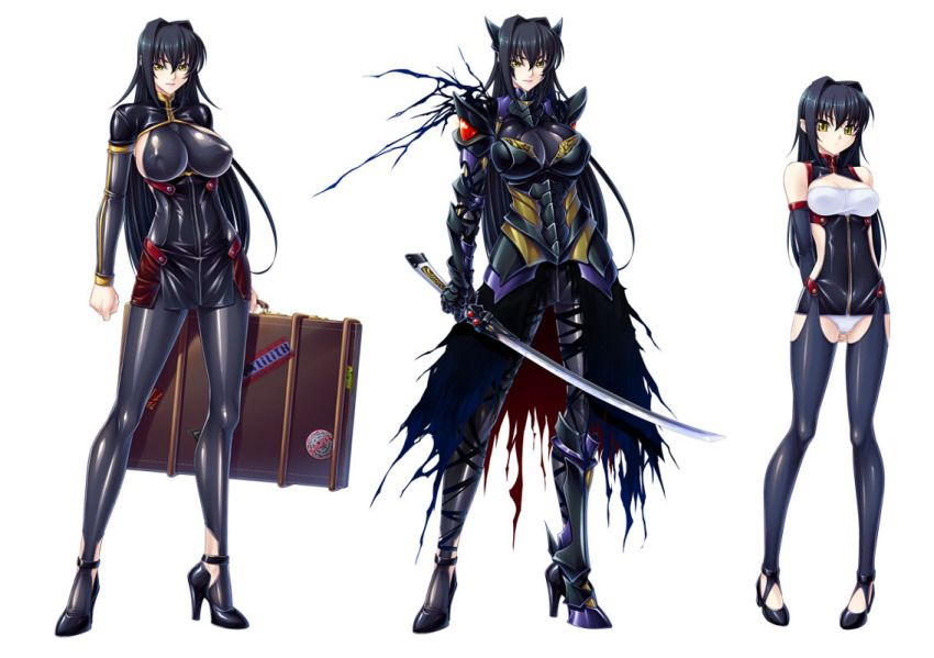 Black Lilith Anime Fantasy Setting Fantasy Characters Fan Art Character Reference