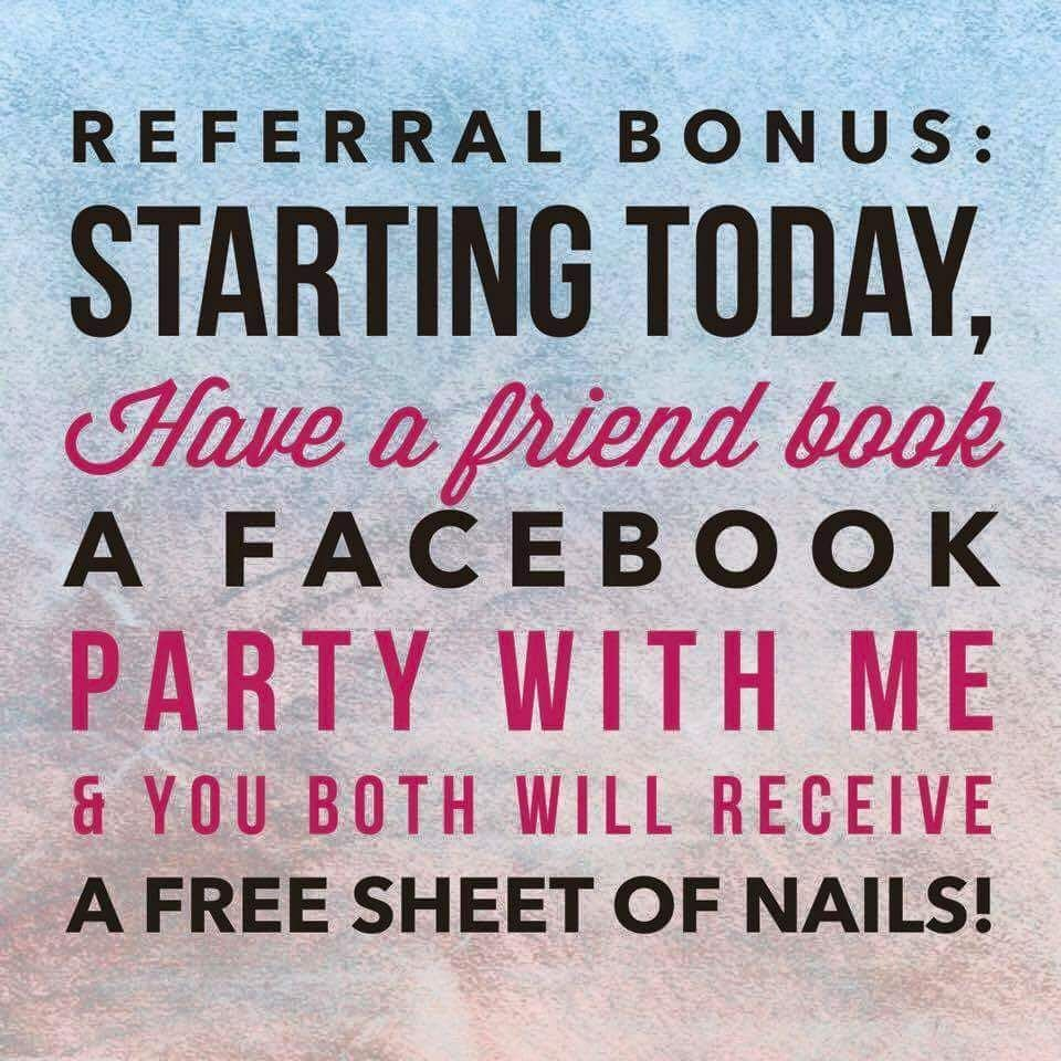 Book a facebook party and share Jamberry with all of your friends ...