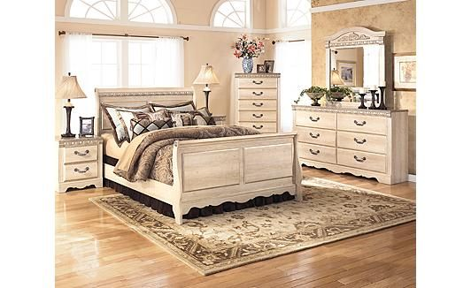Silverglade Sleigh Bedroom Set