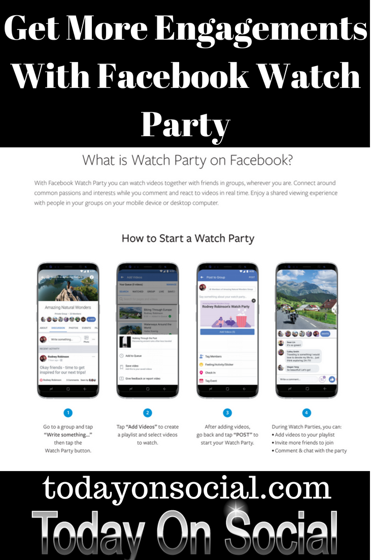 Watch Video Online With Your Friends On Facebook Today On Social Facebook Marketing Strategy Social Media Facebook Marketing