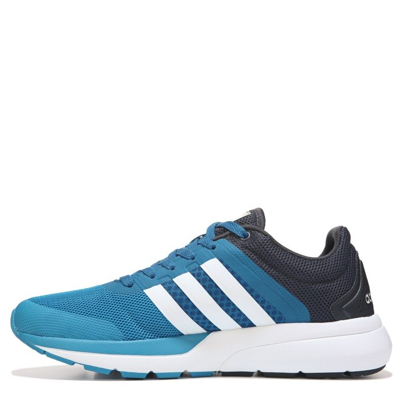 sports shoes e2de7 9ee7a Adidas Men s Cloud Foam Flow Running Shoes (Blue White Grey) - 12.0 D
