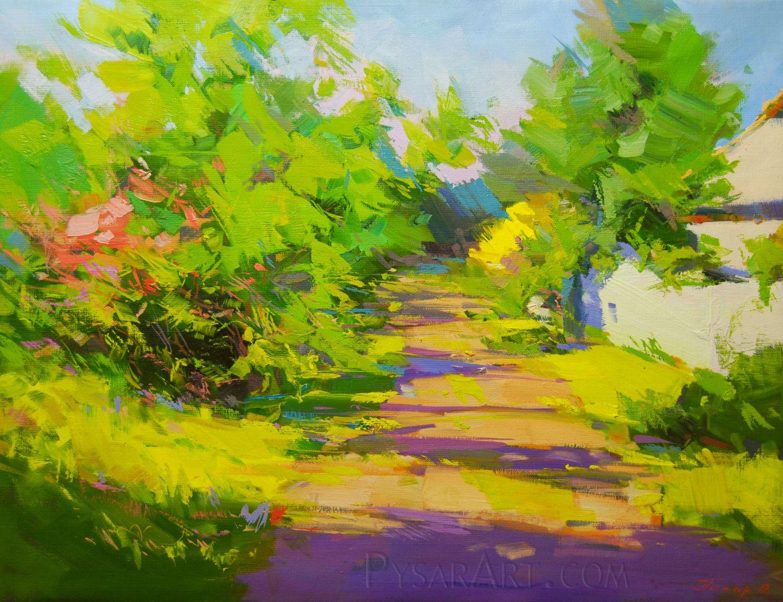Summer Landscaping summer painting landscape art impressionist art oil   light