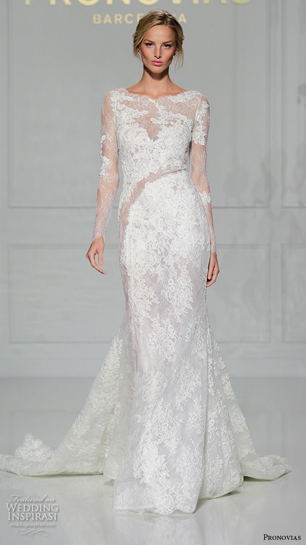 Pronovias 2016 Wedding Dresses — New York Bridal Runway Show | 2016 ...