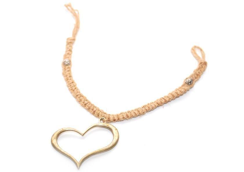 - hemp bracelet