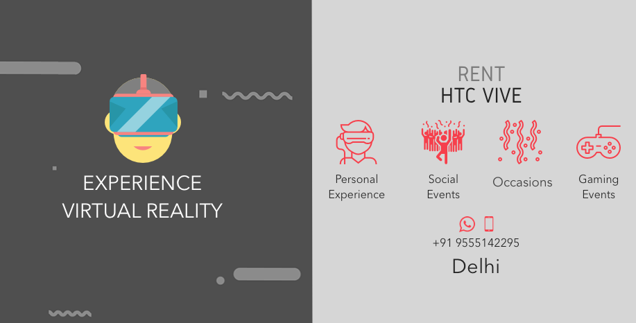 Rent Htc Vive In Delhi Give Your Gaming Events And Personal Events A New Touch Htc Vive Htc Event