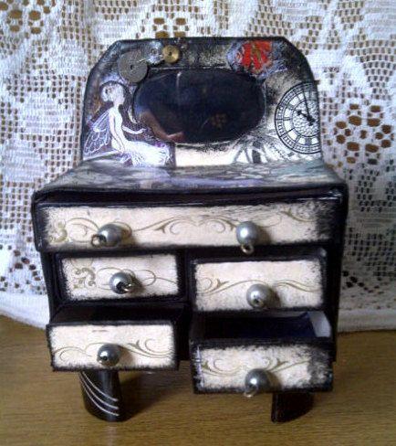 Steampunk Dresser