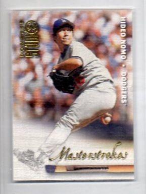 1998 Studio Masterstrokes 7 Hideo Nomo Collector Revolution Sports Cards Hideo Sports