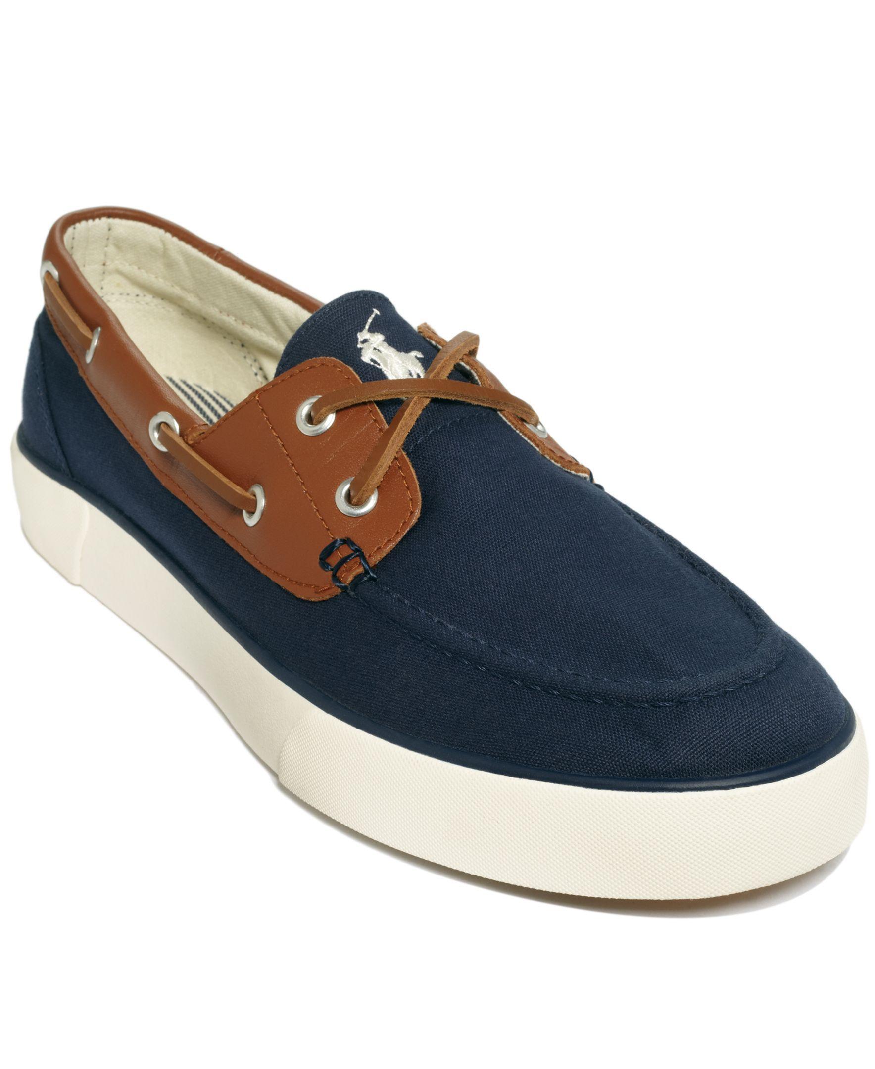 Polo Ralph Lauren Rylander Boat Shoes