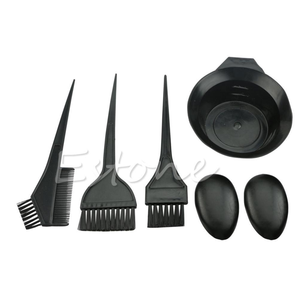 Brushes Bowl Combo Dye Tint Salon Hair Color Hair Color Brush Hair Color