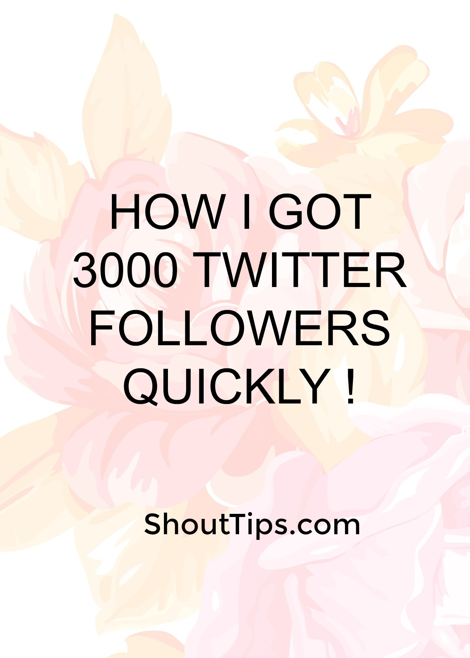 Secret Exposed To Increase Twitter Followers Free Of Cost