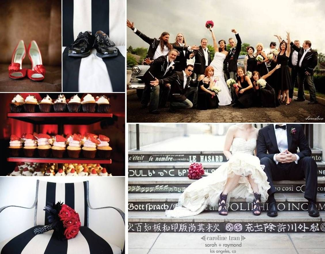 Rock Style Wedding Decoration N Roll Atude