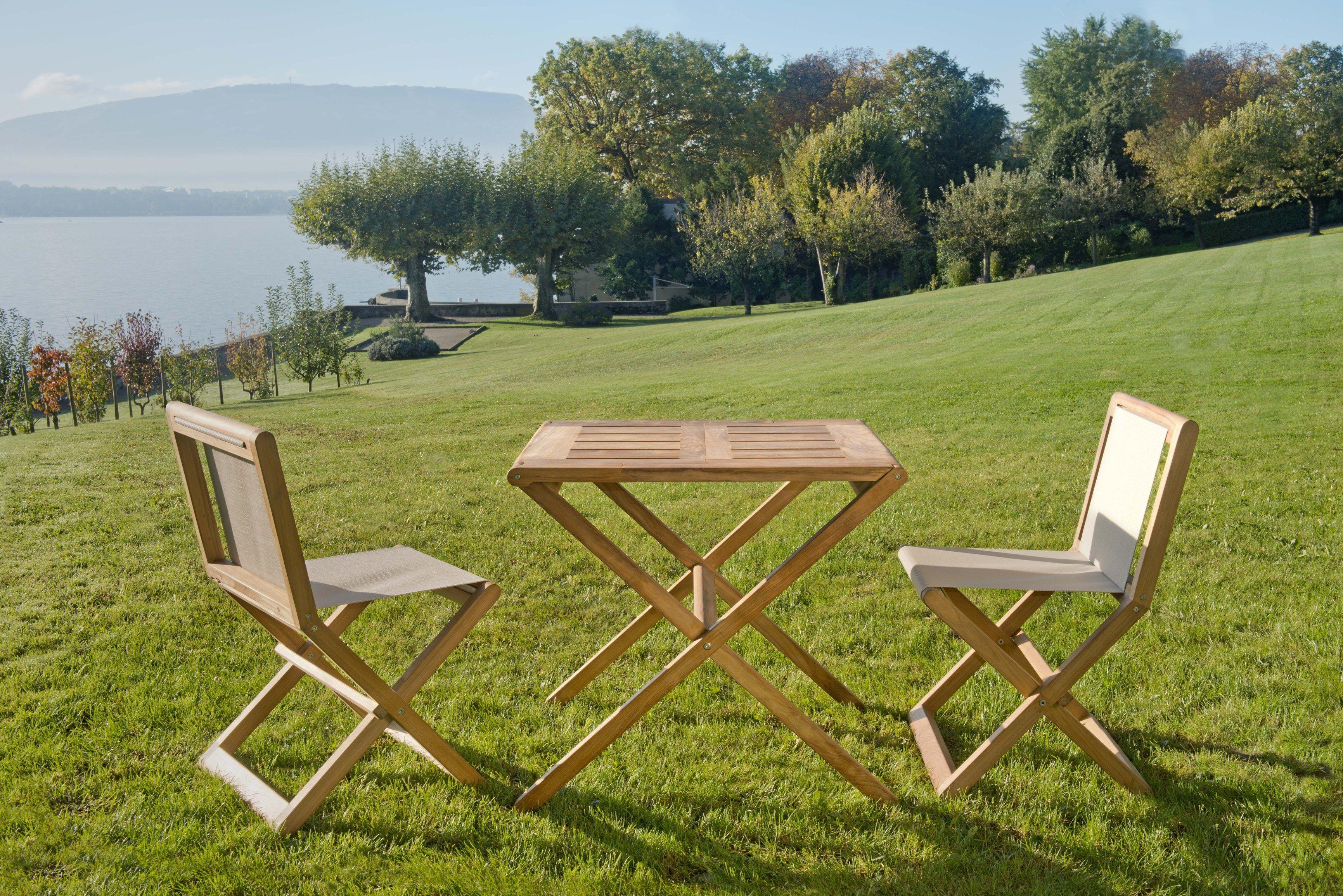 Copacabana Outdoor Collection By Christophe Delcourt For Tectona Outdoor Garden Furniture Garden Table