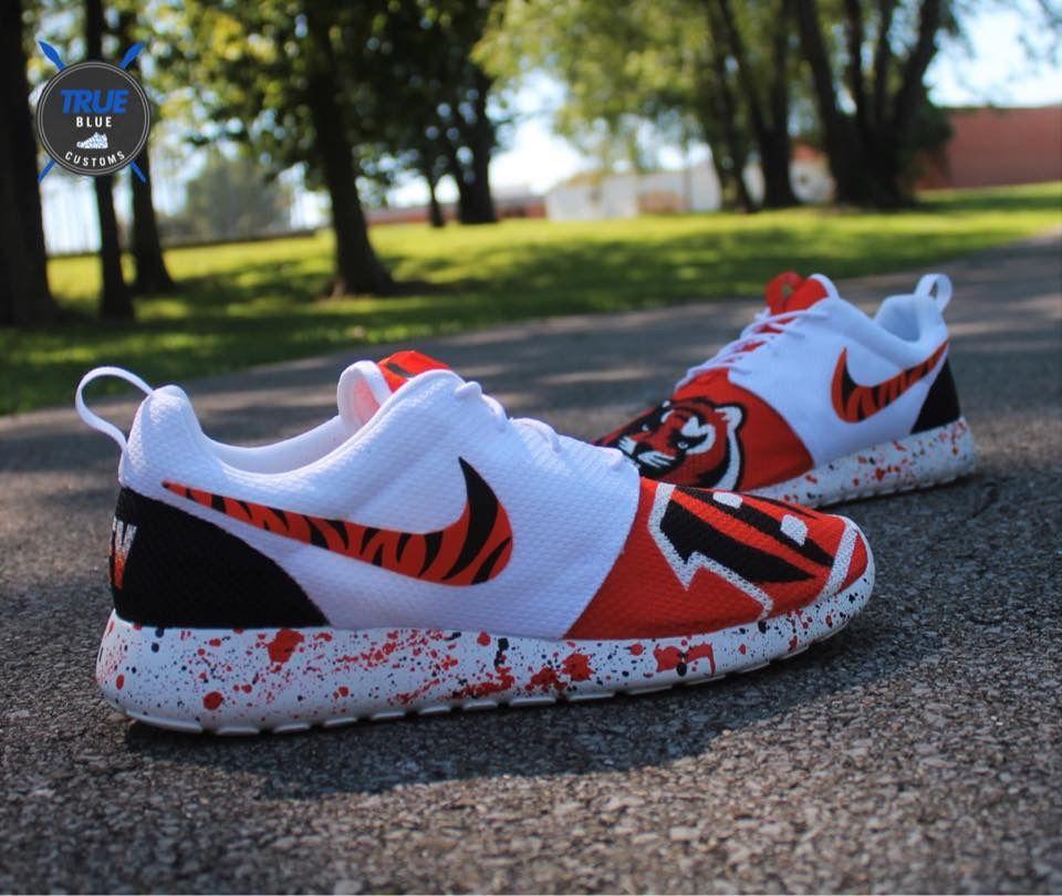 Those Nike Bengal Shoes R Legit Cincinnati Pinterest