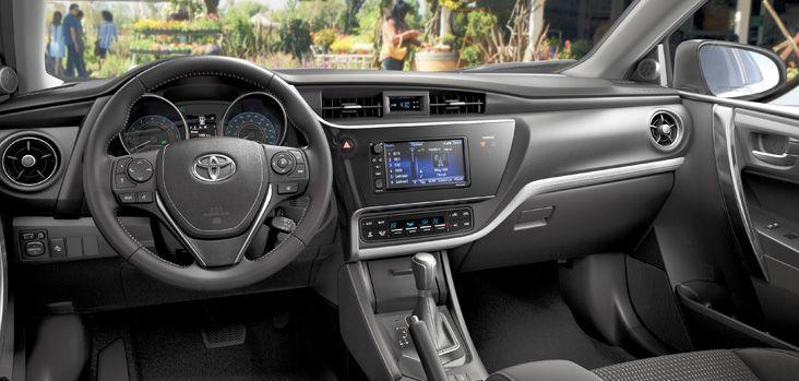 2017 Toyota Corolla Im Interior Display Ken Shaw In Toronto Ontario