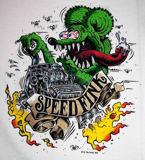 Fink Garage: Rat Fink Characters - Google Search