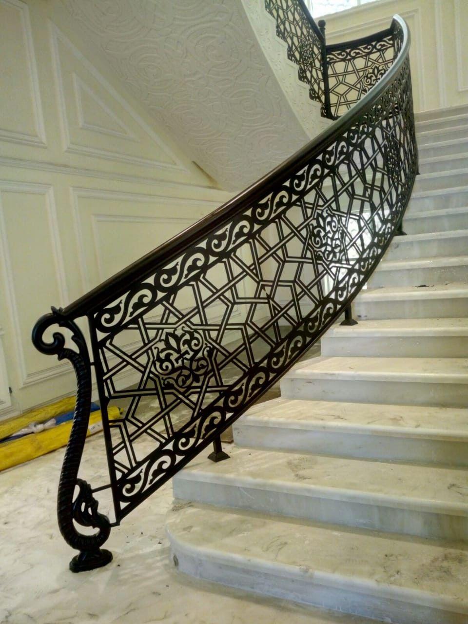 Pin By Khateeb Khateeb On Handrail Stairs Design Interior Iron Staircase Railing Stair Railing Design