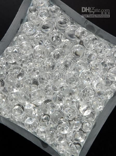 Clear Crystal Water Gel Beads For Wedding Party Decor Crystal Soil