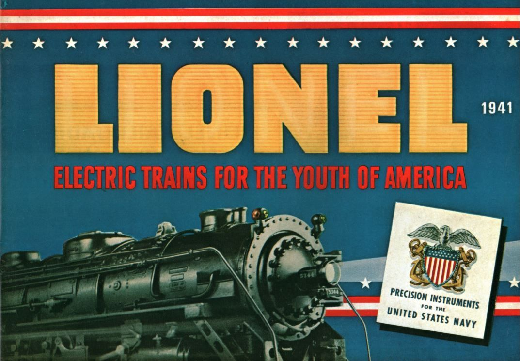 Lionel Trains Catalog : Lionel trains catalog cover who we are pinterest