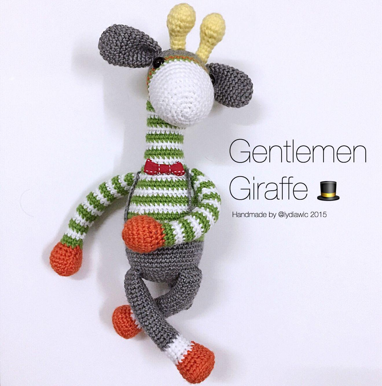 Crochet Giraffe   patrones amigurumis   Pinterest   Jirafa, Animales ...