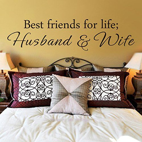 Best Friends For Life Husband and Wife - Wall Quote Saying ...