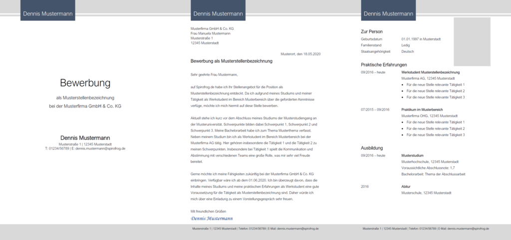 Bewerbungsvorlage Student In 2020 Kostenlose Bewerbungsvorlagen Bewerbung Bewerbung Schreiben