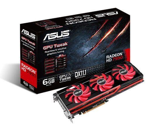 Asus Radeon Hd 7990 Dual Gpu Graphics Card Unleashed Graphic Card Asus Dual