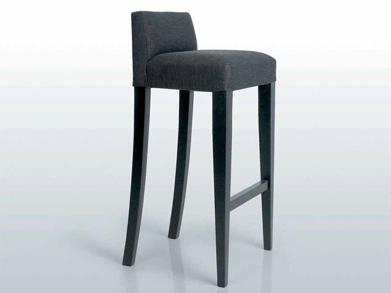 Design upholstered fabric stool seaton barchair seaton for Interni furniture