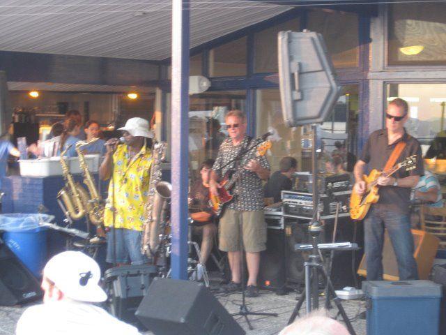 The Joe Moore Band, performing at Breakwaters, Burlington, VT, 2012.