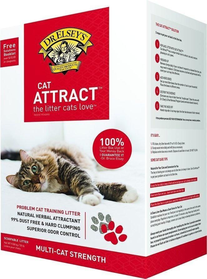 Dr Elsey S Cat Attract Cat Litter Best Cat Litter Cat Litter Brands Natural Cat Litter