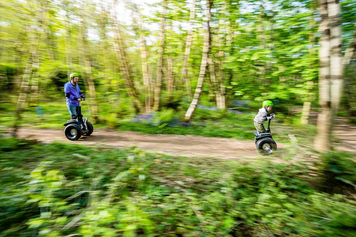 Assemble the whole family this Summer and join us on a highly rated experience on board your own all-terrain Segway. Before you know it – you'll all be gliding on a safari expedition unlike any other.