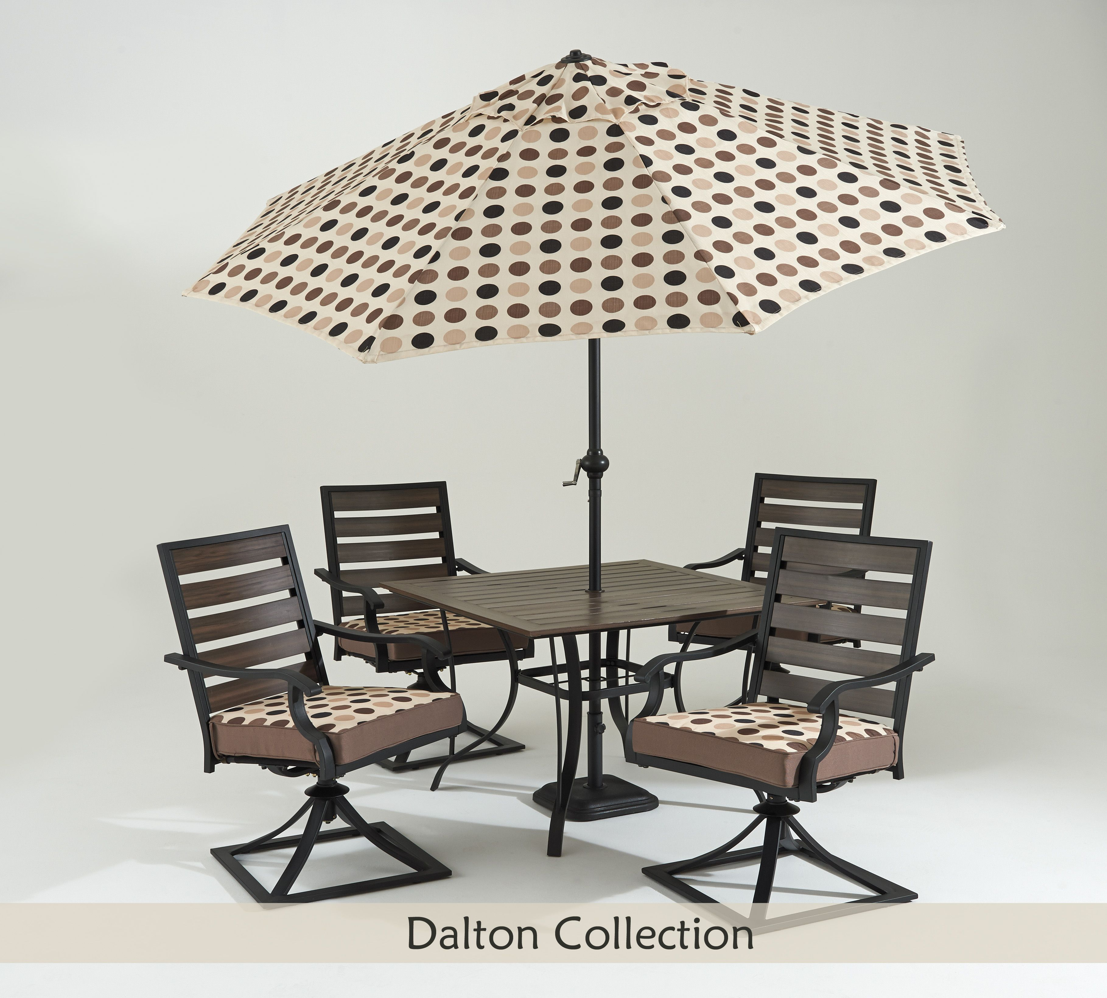 This reversable cusion set suits any occasion and brings variety to your #patio.