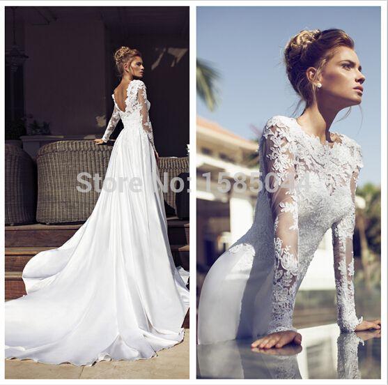 robe de mariée dos nu plongeant photo , Recherche Google
