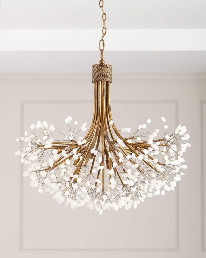 Photo of John-Richard Collection Quartz 9-Light Chandelier