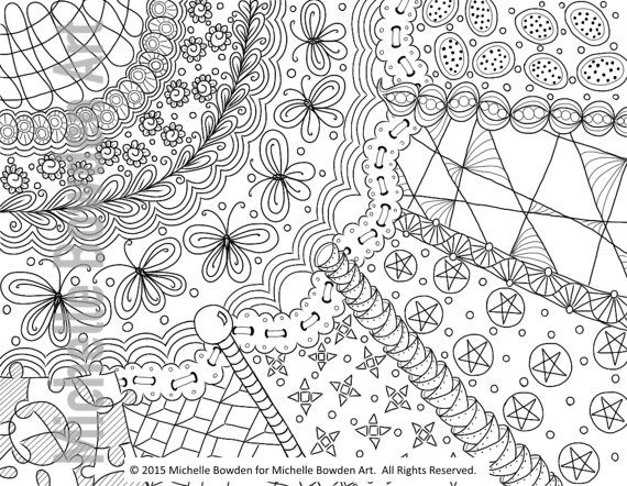Coloring Page Printable Sunrays Simplified Zendoodle Coloring Pages Color Art Pages
