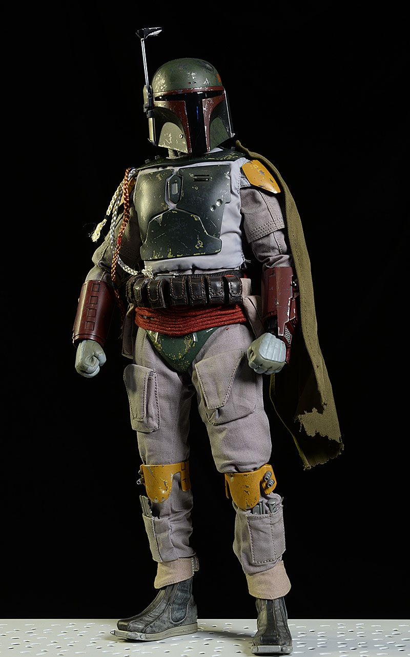 Hot Toy Deluxe Boba Fett Sixth Scale Action Figure Star Wars Design Star Wars History Star Wars Awesome