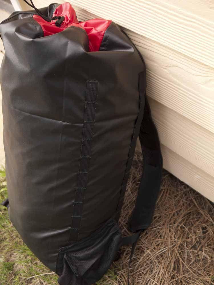 Simple Homemade Ultralight Backpack