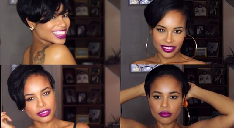 Natural Hair Flat Iron Styles: How To Flat Iron Your TWA