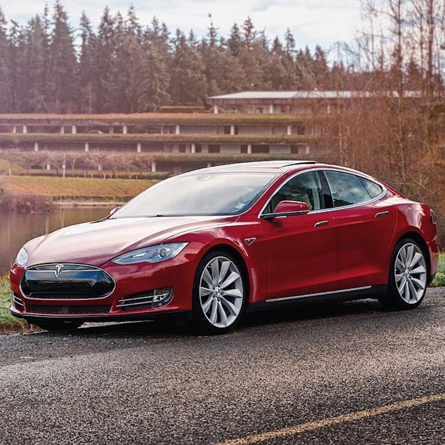 As the only true luxury sedan that's an electric vehicle