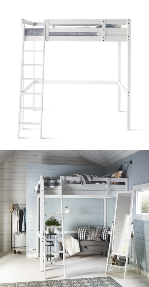 You Can Use The Area Under The Stor 197 Loft Bed For Storage