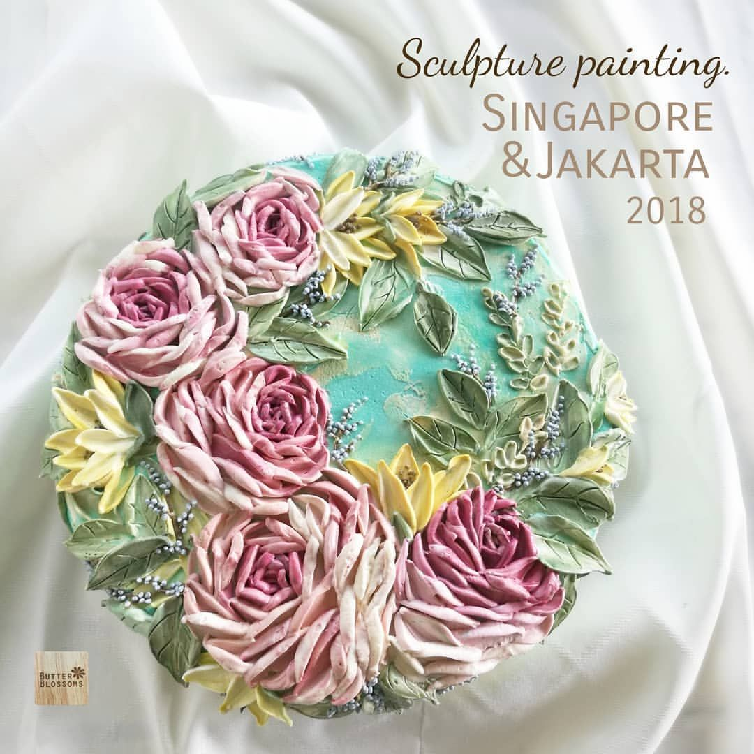 """"""" Sculpture Painting """" 25,26 May in Jakarta 16,17June in"""