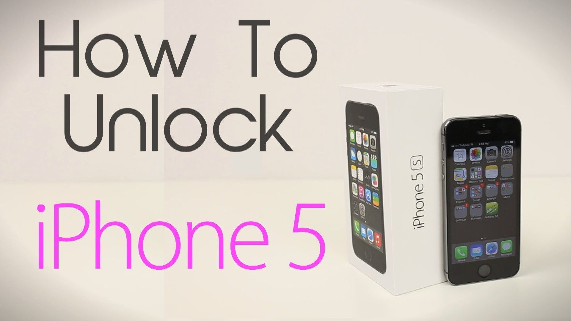 How to Unlock iPhone 5 (Any Carrier or Country) iphone 7