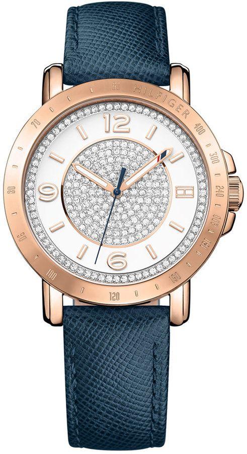 megfizethető áron hihetetlen árak vásárol új Tommy Hilfiger Women's Sophisticated Sport Rose Gold-Tone Crystal ...