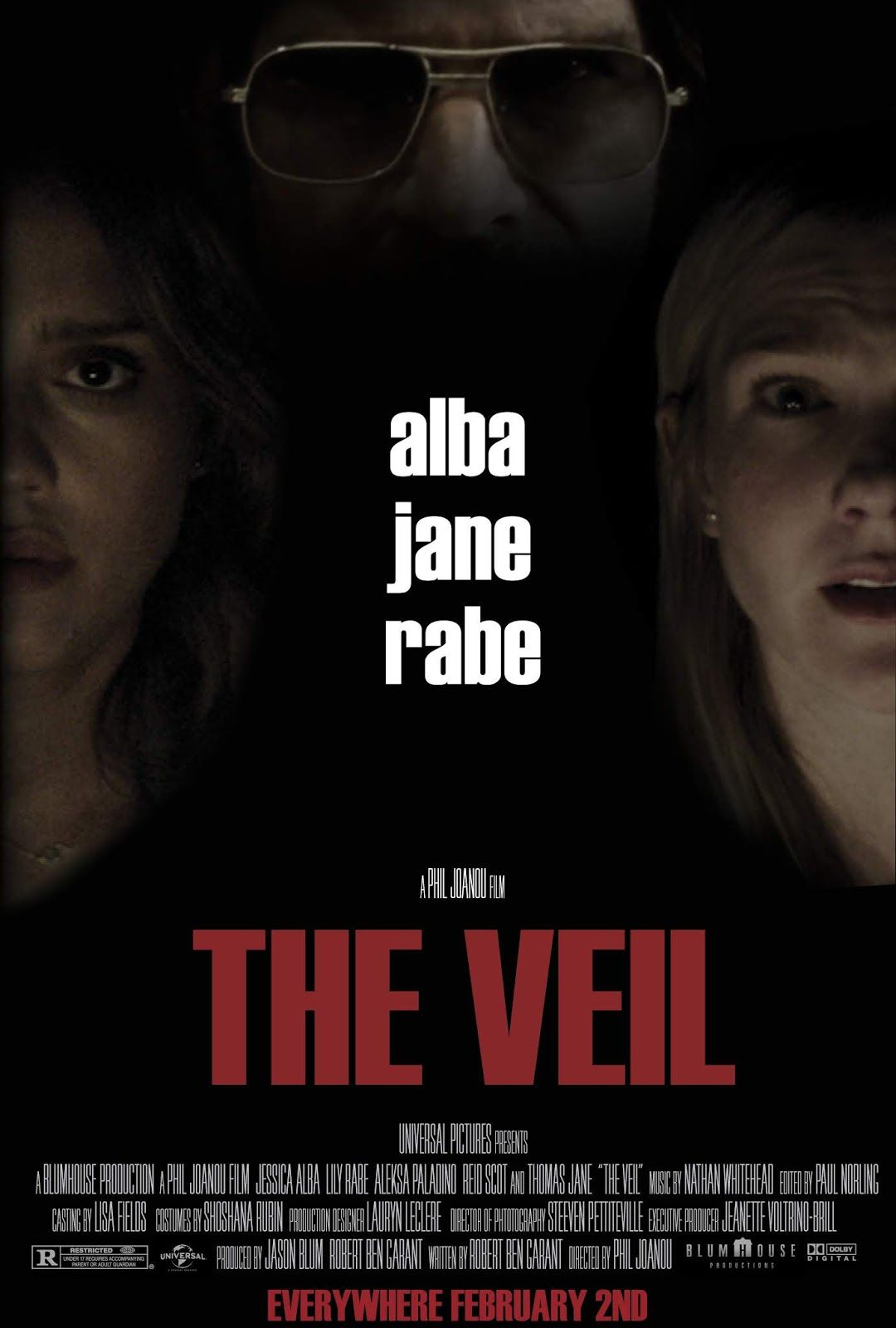 The VeilExceptional thriller Movie posters, About time